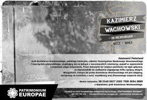 Wachowski inicjatywa Patrimonium Europae